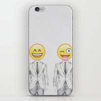 suit iPhone & iPod Skins featuring Suit & Tie  by BTP Designs