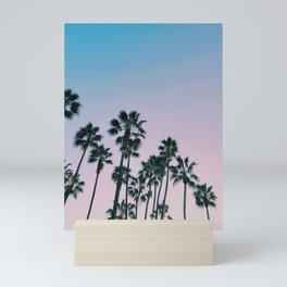 Palms Palms Palms Mini Art Print