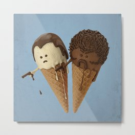 Le Ice Cream Metal Print