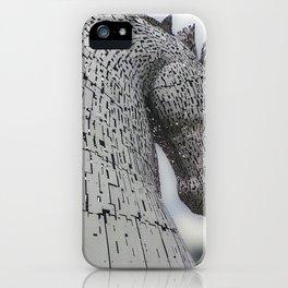 Kelpie Sculpture iPhone Case