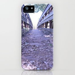 Path less travelled iPhone Case