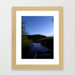 Escape to Denmark  Framed Art Print
