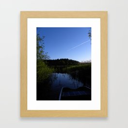 Escape to Denmark  Framed Art Print