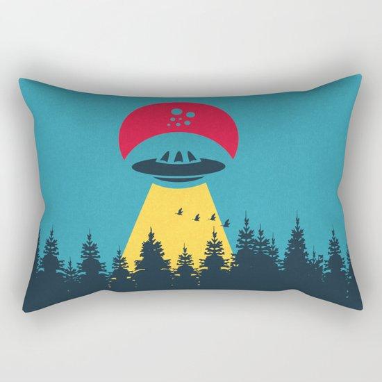 Visiteurs Rectangular Pillow