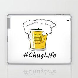 #ChugLife Beer Mug Laptop & iPad Skin