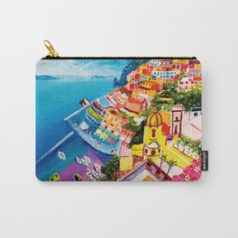 Beautiful Vernazza Carry-All Pouch