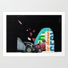 Accident  Art Print