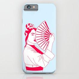 Royal V iPhone Case
