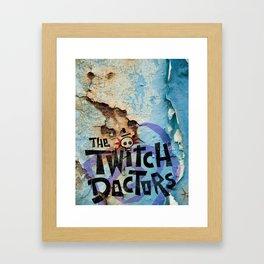 Twitch Doctors Logo Framed Art Print