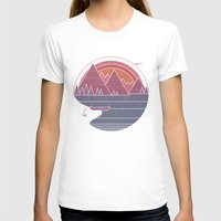 the mountains are calling T-shirts featuring The Mountains are Calling by Rick Crane