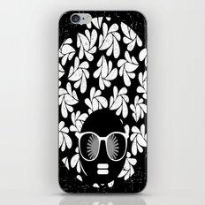 Afro Diva : Black & White iPhone & iPod Skin