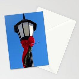 Wildwood Lightpost in Winter I Stationery Cards