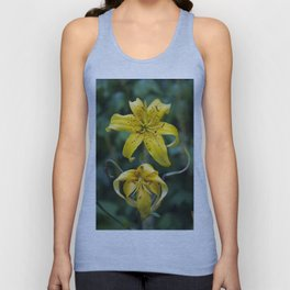 Floral Print 055 Unisex Tank Top