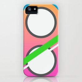 Utopia - Back to the Future tribute iPhone Case