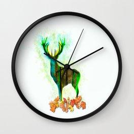 Deerskin Wall Clock