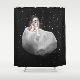 Lost in a Space / Phobosah Shower Curtain