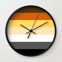 Gay Bear Brotherhood Flag Wall Clock