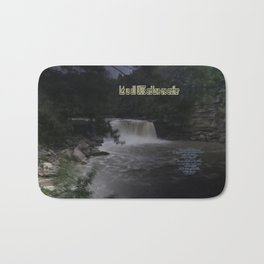 Let us unite and love one another Bath Mat