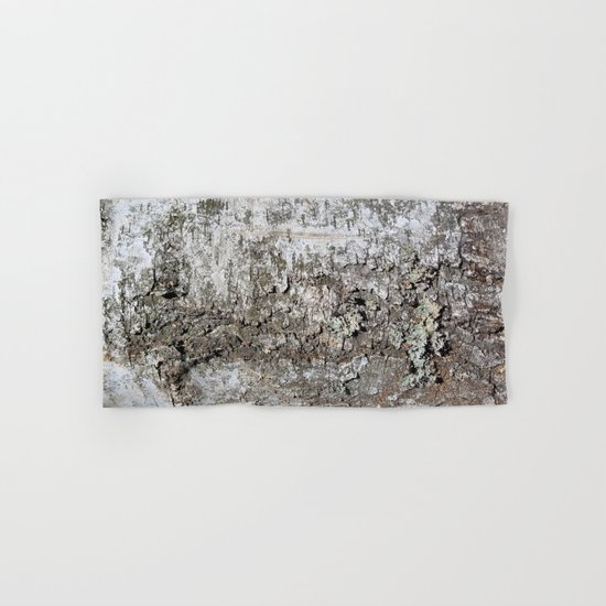 Tree Bark Hand & Bath Towel