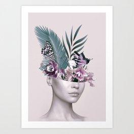 Tropical Girl 3 Art Print