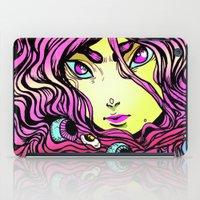 ramen iPad Cases featuring Ramen girl by bb0t