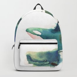 two whales Backpack