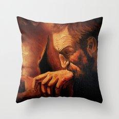 Incredulity of Thomas Throw Pillow