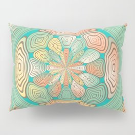 Tropical color abstract Pillow Sham