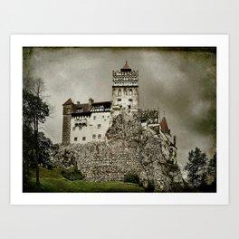 Dracula Was Here Art Print