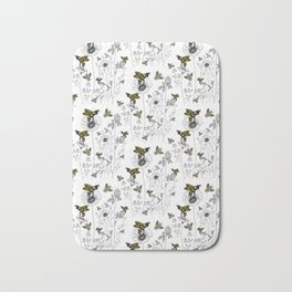 bees knees Bath Mat