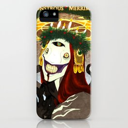Monstrous Merriment iPhone Case