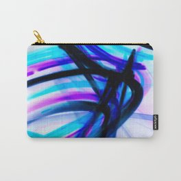 Attitude Abstract Digital Line Painting Carry-All Pouch