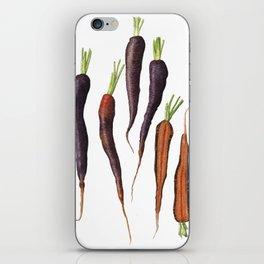 Purple Haze Carrots iPhone Skin