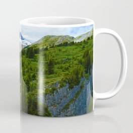 Views along the Wilcox Pass Hike in Jasper National Park, Canada Coffee Mug