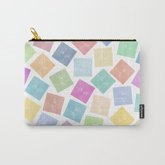 Colorful Geometric Patterns II Carry-All Pouch