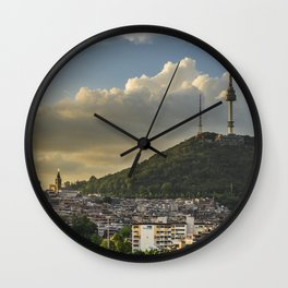 Namsan Tower Glow! Wall Clock