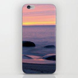 Lake Superior Sunset neat Ontonagon, Michigan iPhone Skin