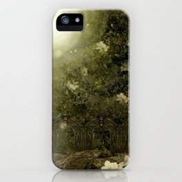 The Great Lie, Forest iPhone Case
