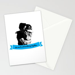 GREY'S ANATOMY - MERDER - We can be extraordinary together. Stationery Cards