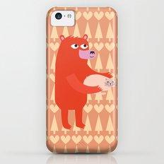 Bear and cat BFF iPhone 5c Slim Case