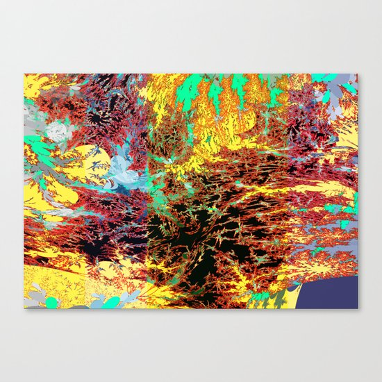 deep jungle II Canvas Print