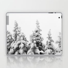 Snow Covered Pines Laptop & iPad Skin