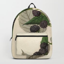 Vintage Painting of Blackberries Backpack