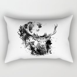 Once upon a Stag Rectangular Pillow