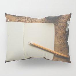 Vintage Travel/Adventure Accessories Pillow Sham