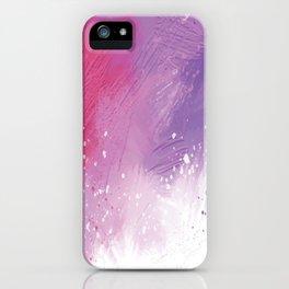 Paint Brushing iPhone Case