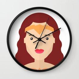 Wonderwoman Wall Clock