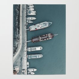 Zakynthos Pier Poster