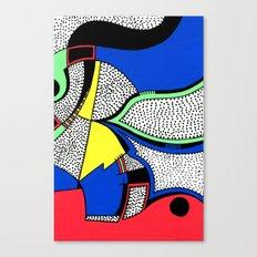 Print #8 Canvas Print
