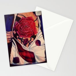 RoseHeart Stationery Cards